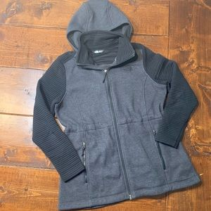 The North Face Womens long Fleece Sweater Jacket
